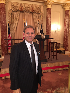 Glenn Taylor at the White House